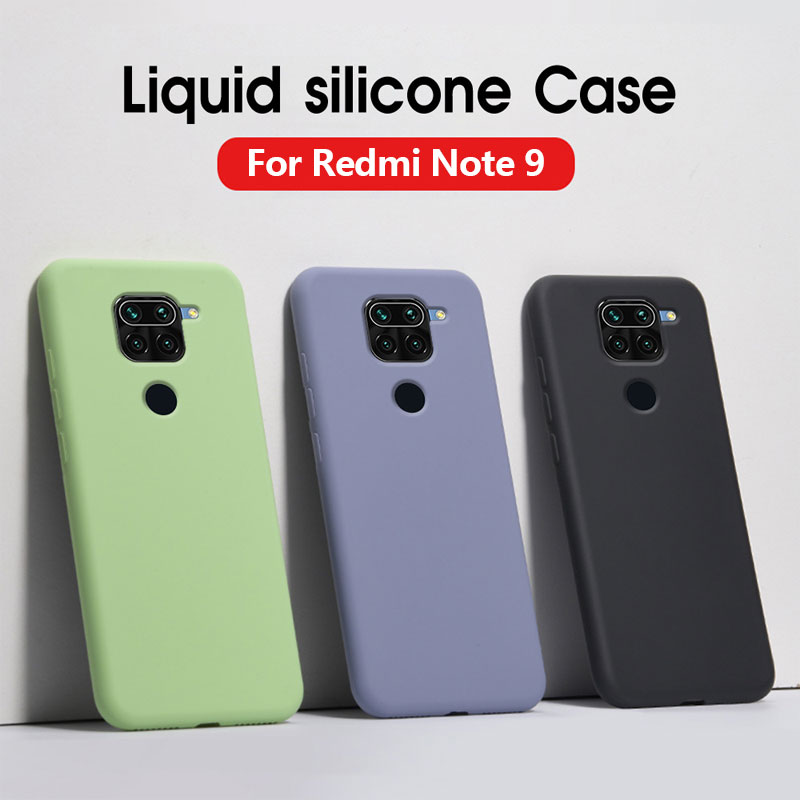 Funda para Xiaomi Redmi 9 9A Note 9S 9 Pro 9Pro, Fundas protectoras de silicona para Redmi Note 9 Pro Max Note9s 9 9A, funda blanda
