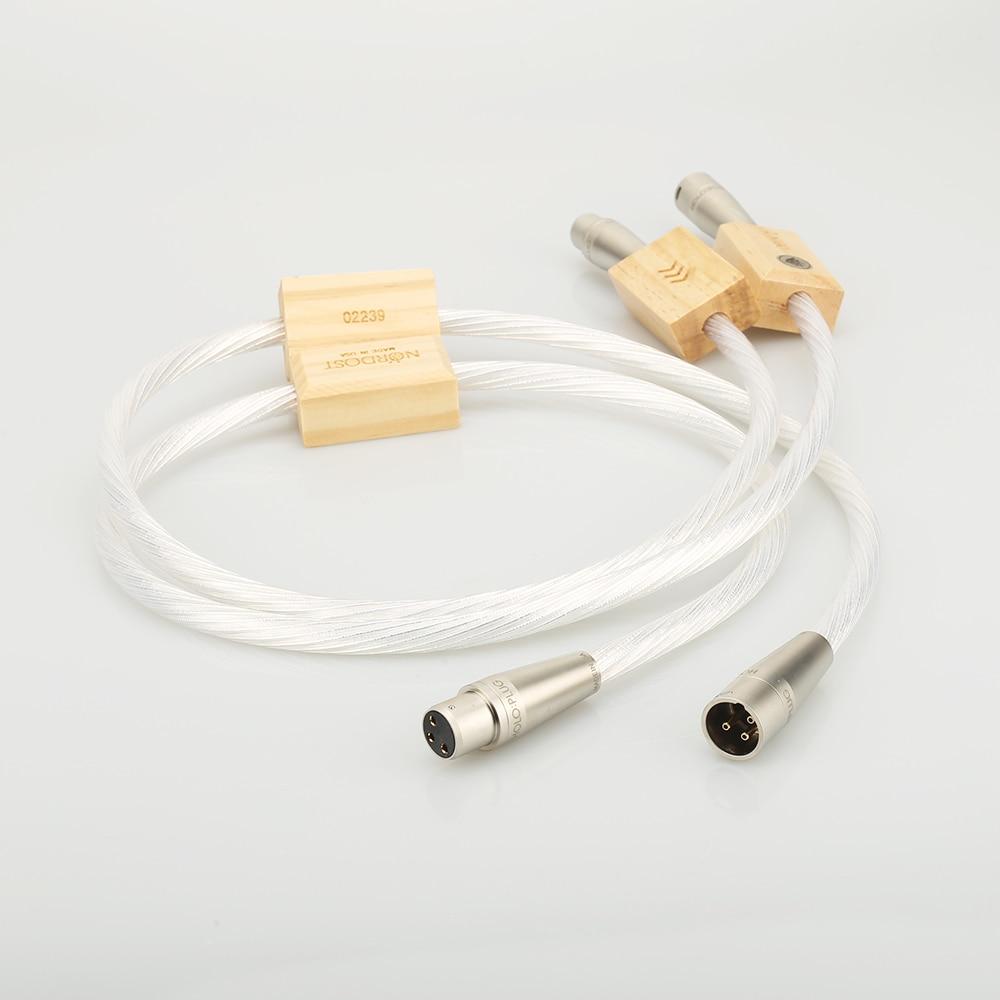 Odin 2 silber Supreme Referenz verbindungen XLR balance kabel für verstärker CD-player