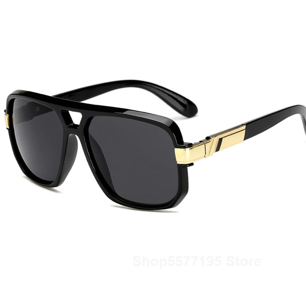 Square Sunglasses Men Luxury Brand Design Couple Lady Celebrity Flat Hot Women Sun Glasses Super Sta