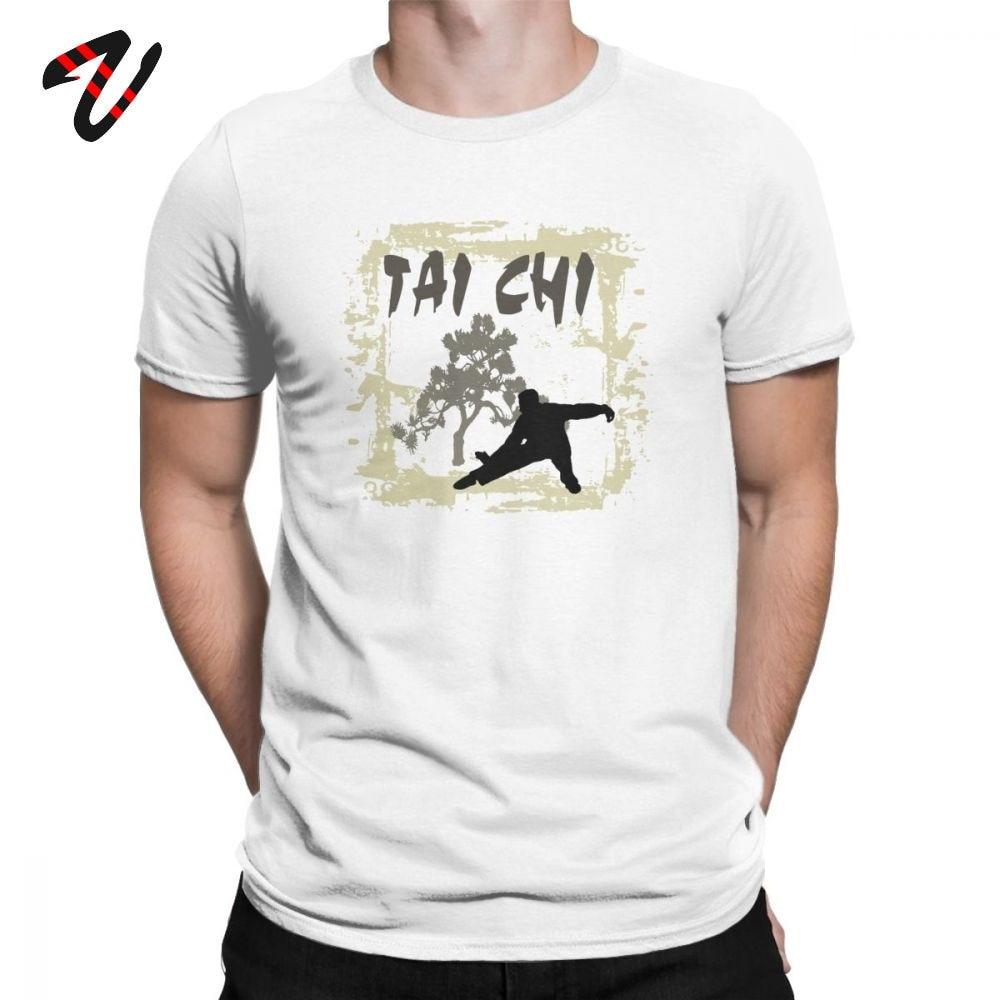 Мужская футболка Faddish, футболка китайского кунг фу тайчи Чуань, хлопковая одежда премиум класса, Забавные футболки с коротким рукавом и круглым вырезом, футболка с принтом|Футболки| | АлиЭкспресс