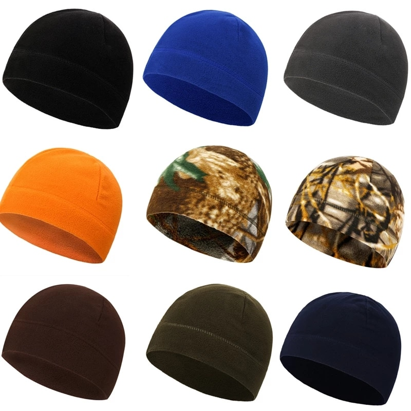Теплая тактическая шапка, зимняя армейская шапка, мягкая мужская шапка для катания на лыжах, велосипеде, приятная на ощупь Антистатическая ...