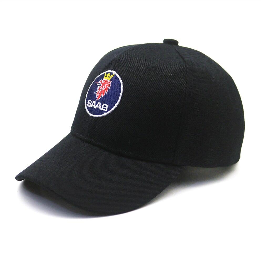 1 Uds gorra de béisbol Unisex Hip Hop gorra de algodón hueso gorra para el sol para SAAB 9-3 93 9-5 9 3 9000 9 5 accesorios de estilo de coche