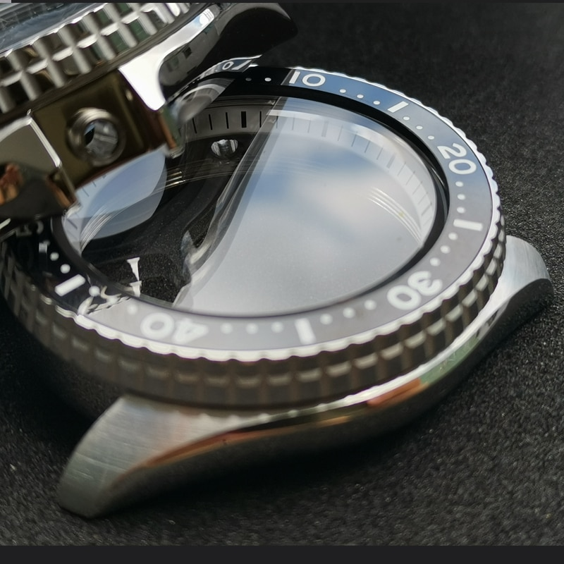Heimdallr Sapphire Watch Case Ceramic Bezel 200m Water Resistance Suitable For NH35A/NH36A Automatic Movement enlarge