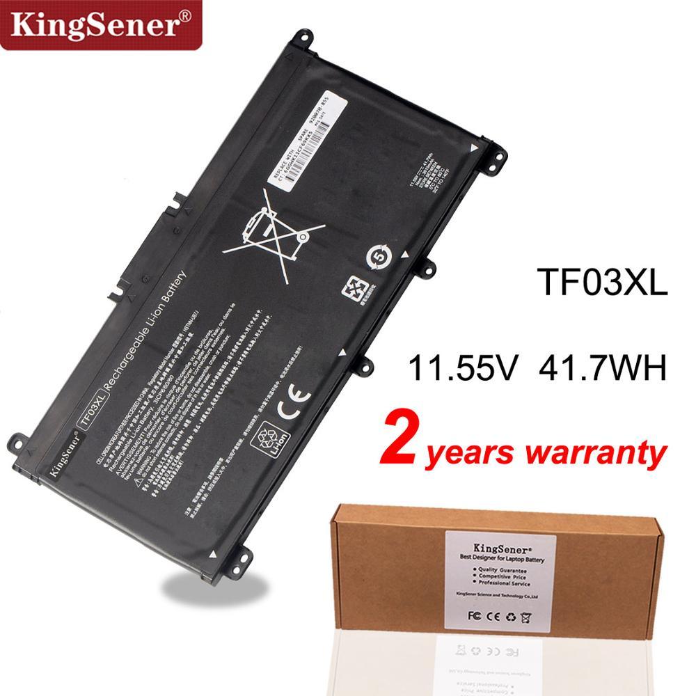 KingSener TF03XL TF03 Battery For HP Pavilion 15-CC 14-bf033TX 14-bf108TX 14-bf008TU HSTNN-UB7J TPN-Q188 TPN-Q189 TPN-Q190 Q191 tpn футболка