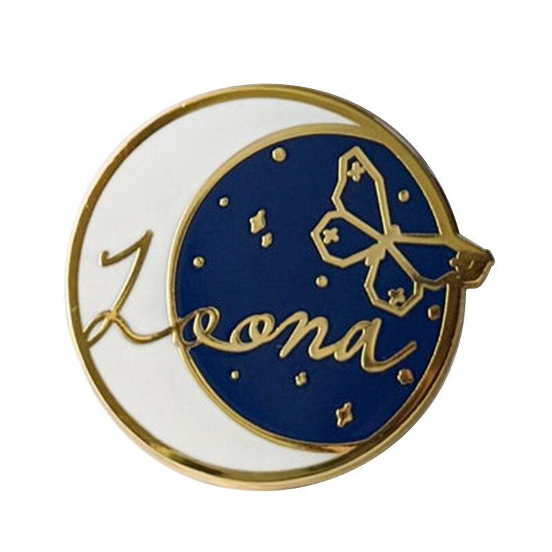 Эмалевый штифт Loona