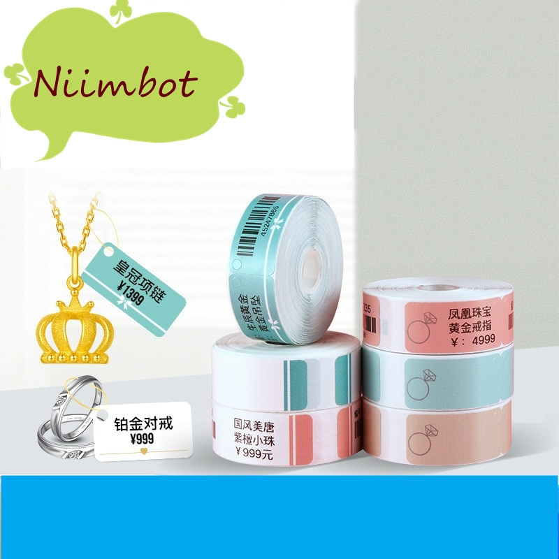 Беспроводной принтер для этикеток Niimbot D11, портативный карманный принтер для этикеток, портативный Bluetooth Термопринтер для этикеток, принтер ...