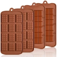 1pcs silicone mini chocolate block bar mould mold ice tray cake decorating baking cake jelly candy tool diy molds kitchen tool