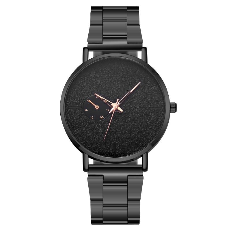 MREURIO Masculine Men's Watch Colorful Hands Single-Eye Watch Simple Milan Mesh Band Quartz Watch for Men Fashion Casual Watch enlarge