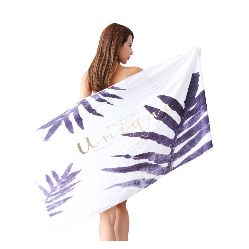 70*140cm Microfiber Beach Towel Custom Printed Beach Resort Swimming Towel Hundred Speed Dry Towel Large Bath Towel-super Soft baan laimai beach resort