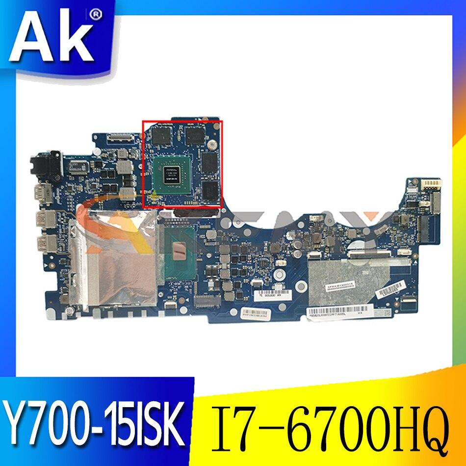 Akemy لينوفو Ideapad Y700 Y700-15ISK اللوحة المحمول BY511 NM-A541 وحدة المعالجة المركزية GTX960M 4GB وحدة معالجة الرسومات اختبار 100% I7-6700HQ