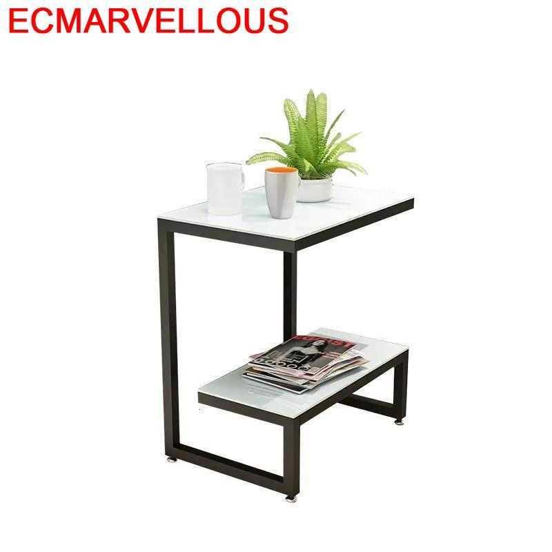 Mesa De café para sala De estar, mueble De mesa para Chevet...