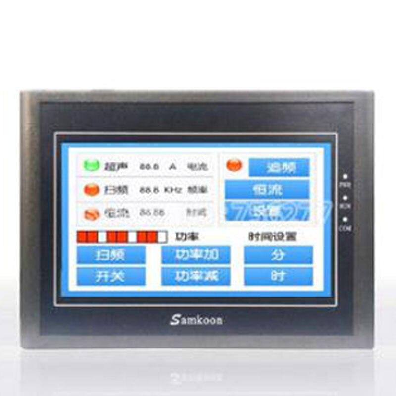 Samkoon EA-070B شاشة تعمل باللمس HMI جديد 7 بوصة 800*480 الإنسان آلة واجهة
