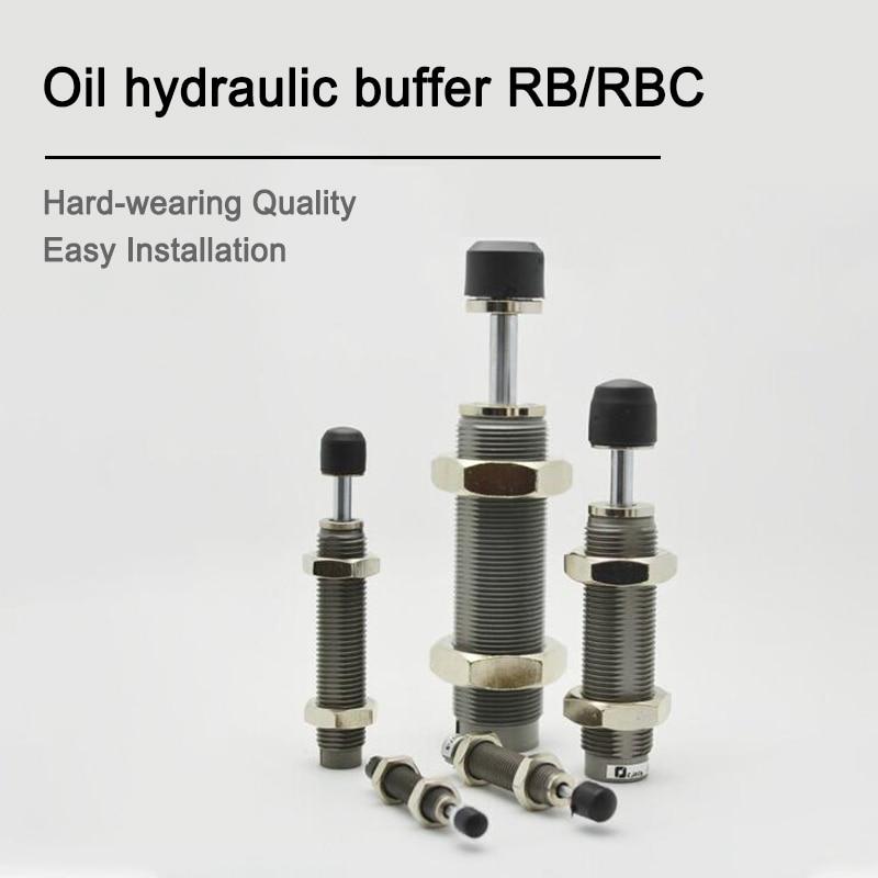 Pneumatic Hydraulic buffer Air Cylinder Shock Absorber Type SMC RB0806/2725/0604/1007 RBC1007/2015