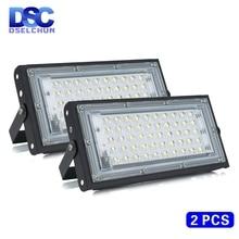 2ชิ้น/ล็อต50W ไฟ Led AC 220V 230V 240V กลางแจ้ง Floodlight Spotlight IP65กันน้ำ LED โคมไฟถนนโคมไฟภูมิทัศน์