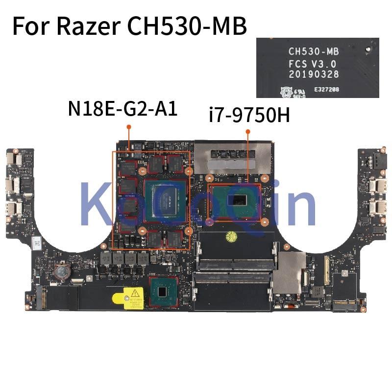 ل Razer CH530-MB I7-9750H RTX 2070 دفتر اللوحة الرئيسية CH530-MB N18E-G2-A1 8 جيجابايت DDR4 اللوحة الأم