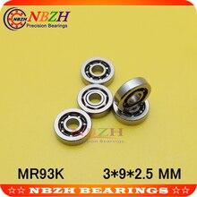 Stainless steel high speed bearing for beauty equipment MR93 SMR93K 3*9*2.5 mm
