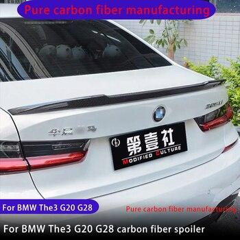 Carbon fiber spoiler for BMW Three Series 2019-2022 The 3 G20 G28 PSM M4 CS M3 style carbon fiber spoiler Modified tail