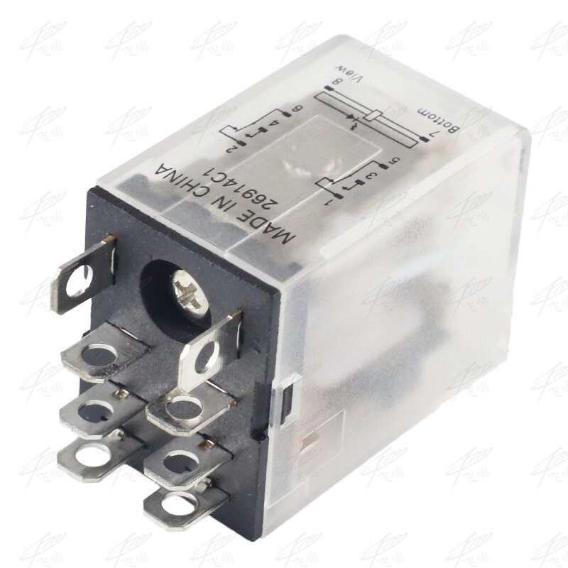 1Pc LY2NJ HH62P HHC68A-2Z Electronic Micro Mini Electromagnetic Relay 10A 8PIN Coil DPDT DC12V 24V AC110V 220V