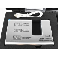 Window Film Transmission Meter LS180 Window Tint Meter for film glass with visible light transmittance IR UV blocking
