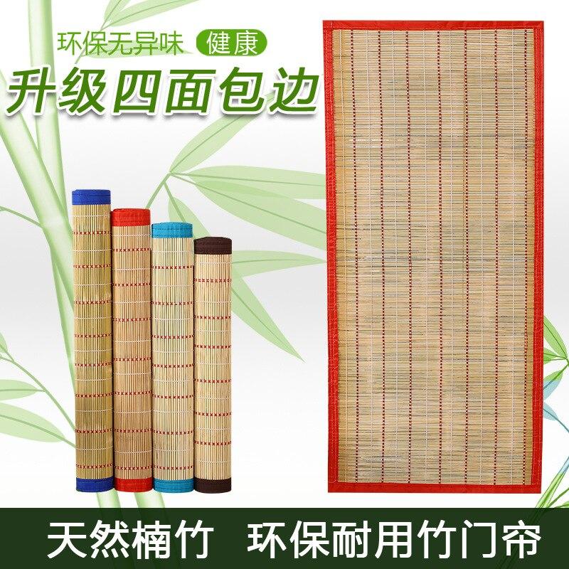 Summer Bamboo Curtain Curtain Bamboo Curtain Kitchen Bathroom Anti-mosquito Anti-Flies Household Door Curtain