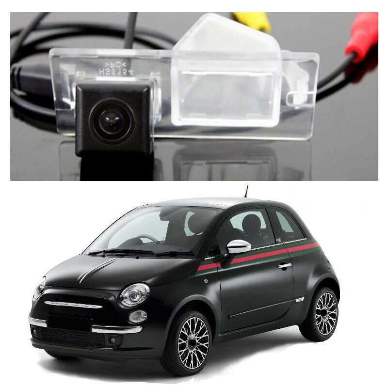 Cámara de visión trasera para coche, videocámara de marcha atrás para Fiat...