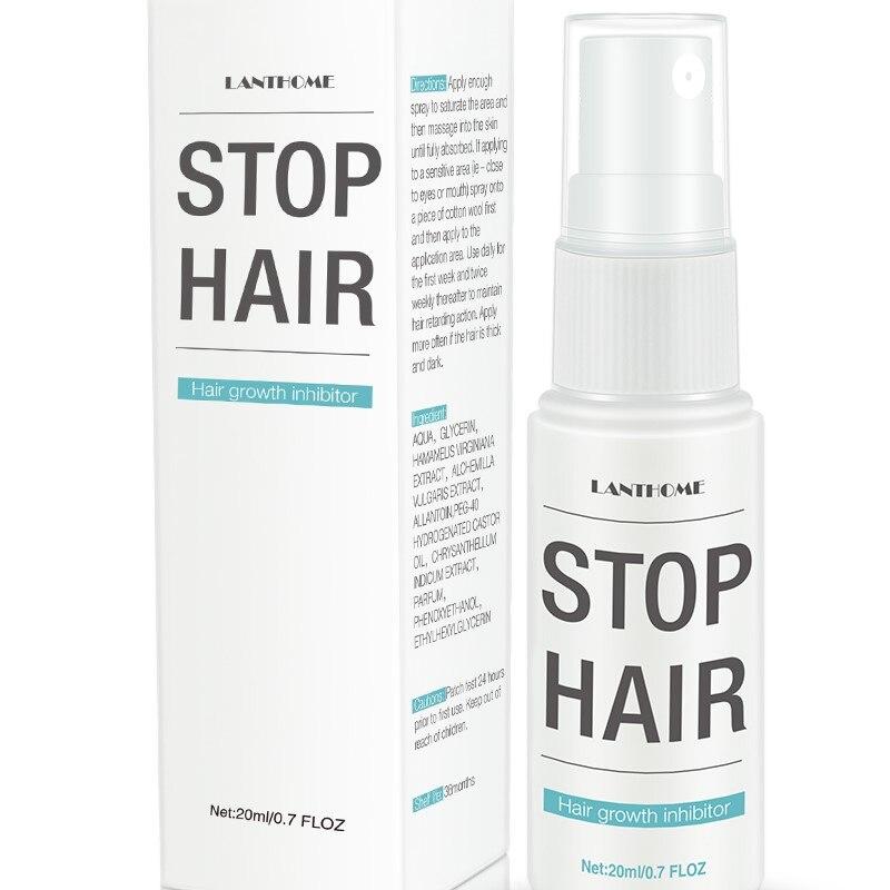 30ML potente todo el cuerpo al ser suave hidratante potente retractilado permanente poros de la piel suave indoloro depilación Spray TSLM1