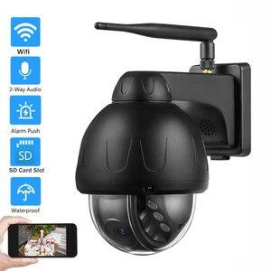 Auto Tracking Wifi IP Camera 5MP Outdoor Waterproof Audio Talk Night IR Onvif Wireless Security Video Surveillance 128G Storage
