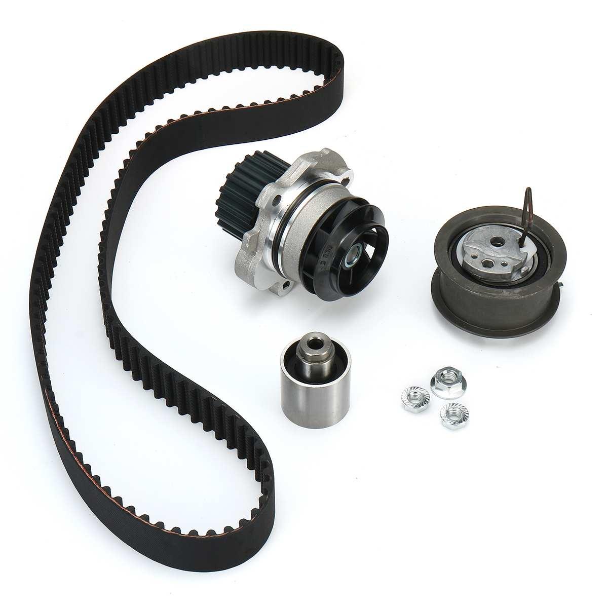 Water Pump + Engine Timing Belt Tensioner Set For Audi A3 A4 A6 ForVW For GOLF For PASSAT 1.9/2.0 TDi 1131812 1221490