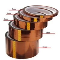 33m tape 100ft heat resistant high temperature 280%c2%b0 300%c2%b0welding polyimide kapton tape insulation electronics safe protect 3 30mm