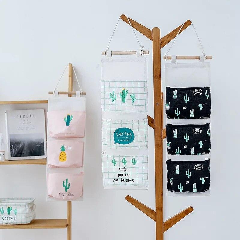 Wall-mounted Storage Bag Bathroom Waterproof Living Room Household Storage Bags Toolkit Kitchen storage And organization