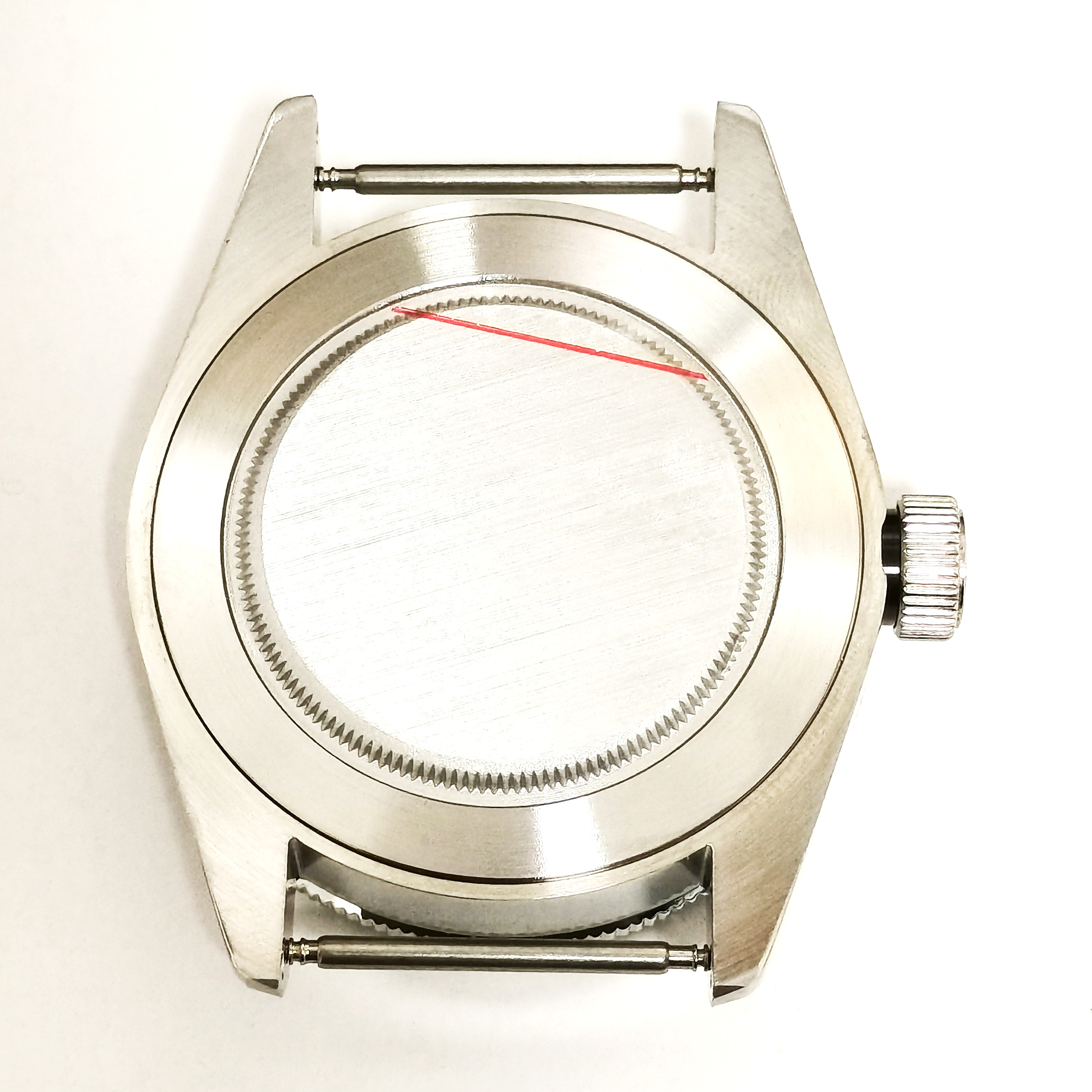 40MM  Man's Watch Part 316 Stainless Steel Case Dial And Hands Set For Automatic Movement ETA 2836 ST2130 Miyota8215 enlarge