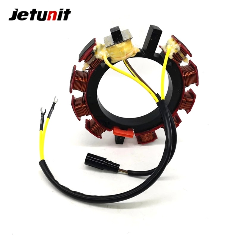 Outboard Stator For Johnson Evinrude OMC Sea Drive 1985-1987 120,140&150HP 35AMP 4&6Cyl Upgrade Kit 582654 584291 173-4291 enlarge