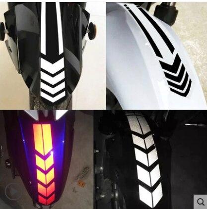 Adesivo caixa de correio caixa de correio frente modificação reflexiva personalidade carro elétrico tampa da motocicleta decoraç
