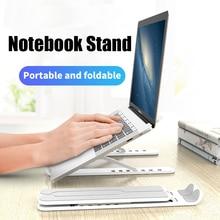 Support dordinateur portable pour MacBook Pro ordinateur portable pliable support dordinateur portable support réglable pour ordinateur portable 7-17 pouces pour MacBook Air Pro