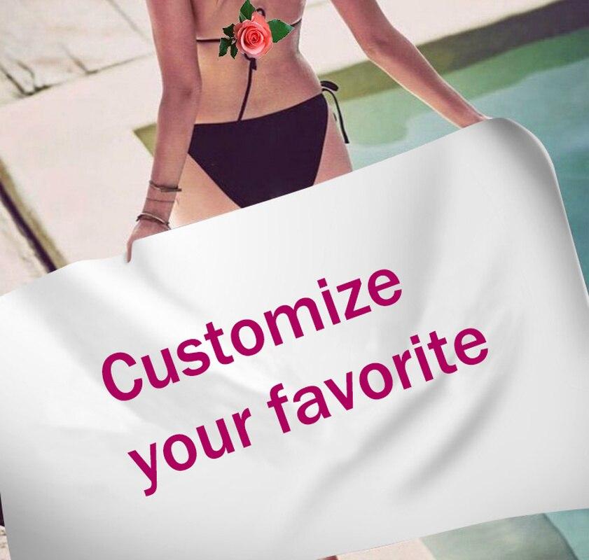 Logotipo personalizado da foto toalha de banho toalhas de banho para adultos toalha de praia nadar microfibra viagem toalha de praia secagem rápida sob 10