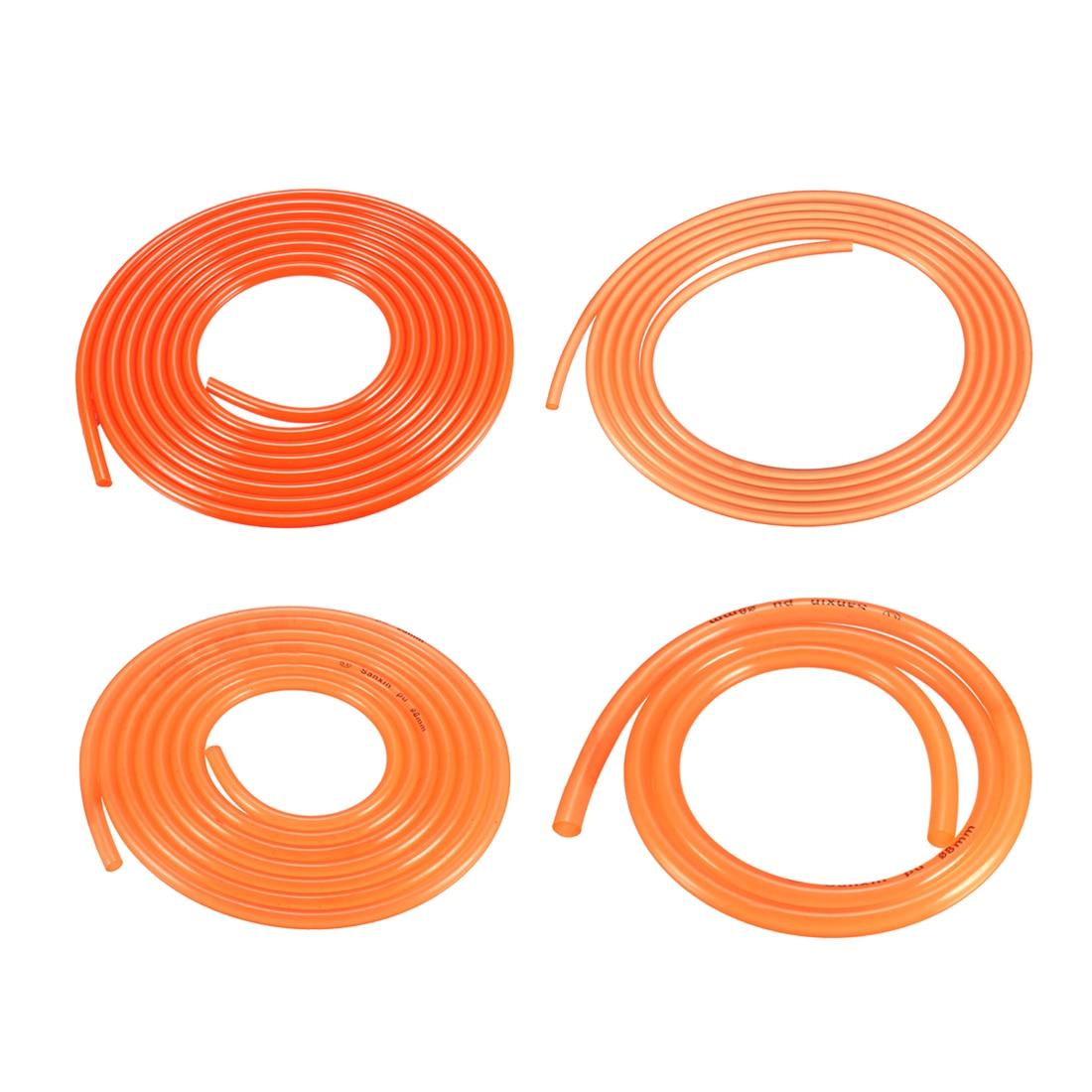 uxcell 3mm-12mm Dia PU Transmission Round Belt High Performance Smooth Urethane Belting for Conveyor Bonding Machine Dryer