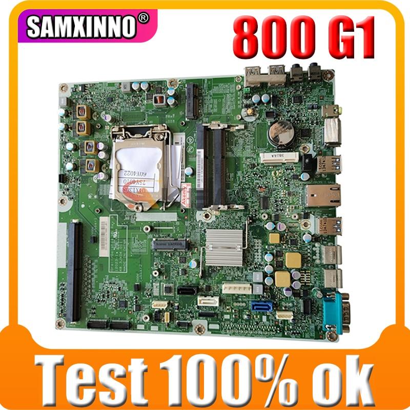 Akemy ل HP EliteOne 800 G1 AIO اللوحة 700624-001 697289-001 48.3JX04.011 LAG1150 DDR3 اللوحة الرئيسية 100% اختبار سريع السفينة