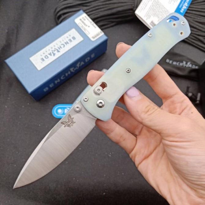 Складной нож Benchmade 535, складной нож G10 с ручками, лезвие S30V, уличный кемпинг, Самооборона, безопасность, портативный карманный нож для повседн... недорого