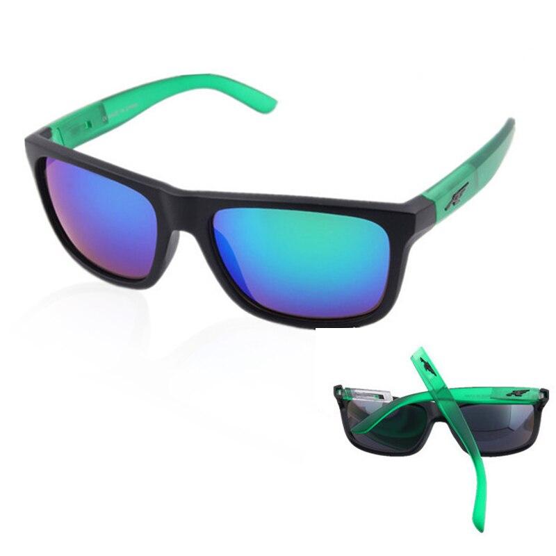 Mirror Removable Sunglasses For Men Arnette Brand Design Sport Square Sunglasses Classic Eyewear Acc