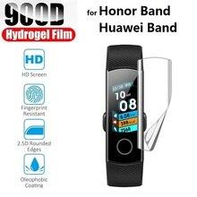 3 piezas película protectora de hidrogel para Honor Band 5 4 Pro Huawei Talkband B6 B5 B3 (no vidrio) lámina protectora de pantalla