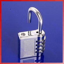 New 4 Digit Resettable steel Combination Coded lock Password Padlock Hardened