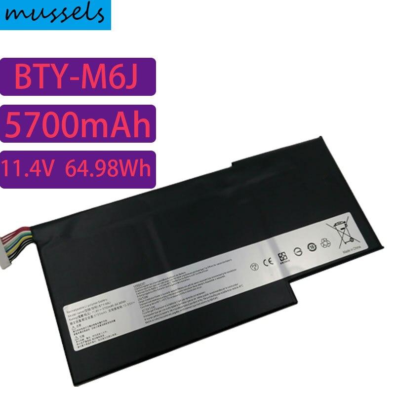جديد حقيقية BTY-M6J BTY-U6J بطارية كمبيوتر محمول ل MSI GS63 GS63VR 6RF ، GS73 GS73VR 6RF MS-17B1 MS-16H2 MS-16K2 GS63VR-7RF