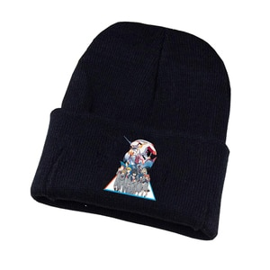 Anime Darling in the Franxx Knitted Hat Cosplay Hat Unisex Print Adult Casual Cotton Hat Teenagers Winter Knitted Cap