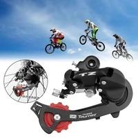 7 speed mountain bike rear derailleur aluminum alloy integrated rear derailleur durable bicycle spare parts