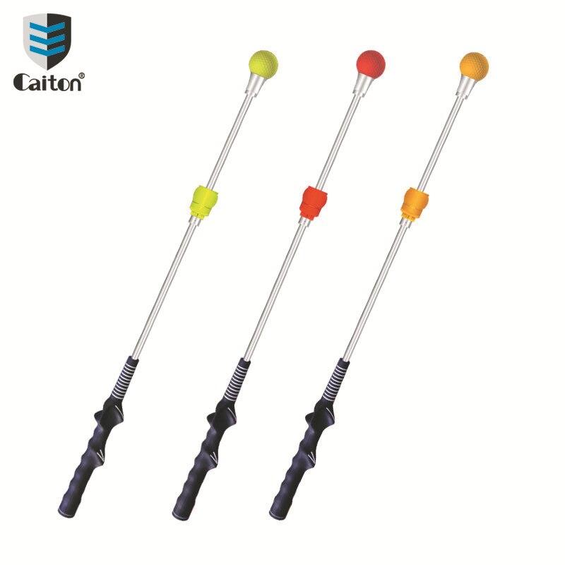 Caiton taco de beisebol prática do balanço do golfe som fazendo balanço vara a pedido caixa colorida ajustável