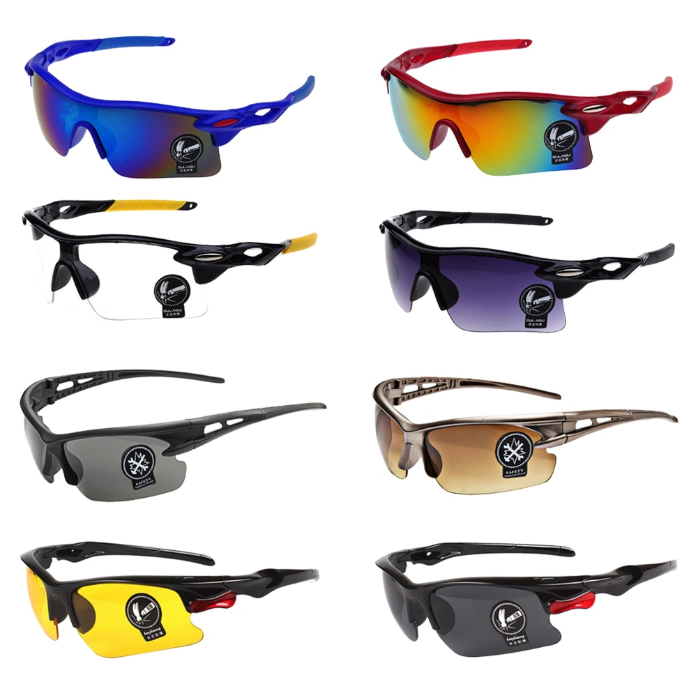 Night Vision Glasses Safety Protective Goggles Anti-Glare Vision UV Protection Driver Safety Sunglasses Eyewear Car Accessories