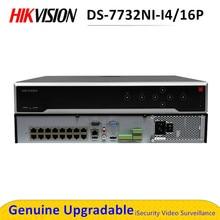 Hik Max 12MP 32CH POE NVR H.265 + enregistreur vidéo réseau ONVIF jusquà 32 To Hikvision DS-7732NI-I4/16P NVR Suppot IVMS4200