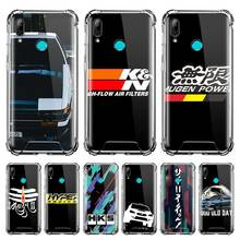 Cover For Huawei P20 P30 P40 Lite E P Smart 2020 Mate 10 20 Pro Fall Proof Airbag Phone Case Capa HKS Japan AE86 Car