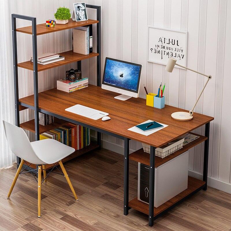 Стол компьютерный простой, домашний, для студентов, простой маленький стол, книжная полка, книжная полка