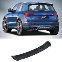 Q5 Carbon Fiber Rear Roof Lip Spoiler Wing For Audi Q5 2009-2013